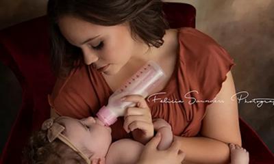 Să îți hrănești copilul este cel mai frumos lucru din lume, indiferent care este sursa