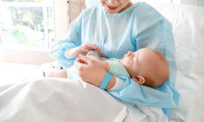 naștere prin cezariană la spitalul universitar