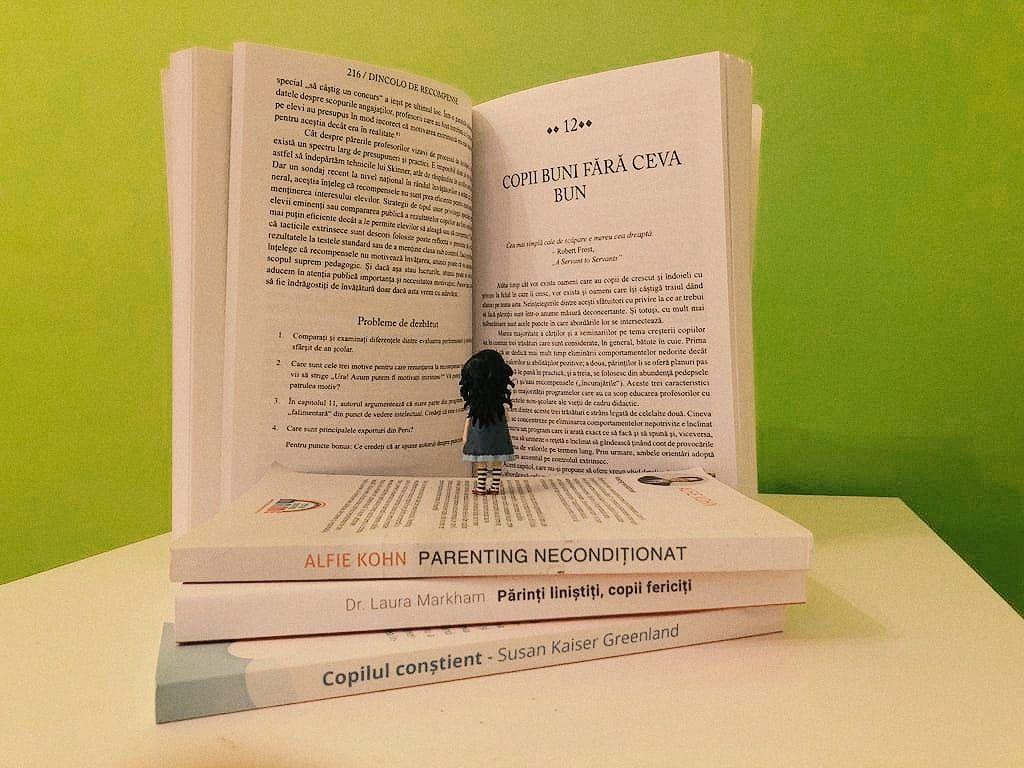 Patru cărți de parenting pentru copilul fericit