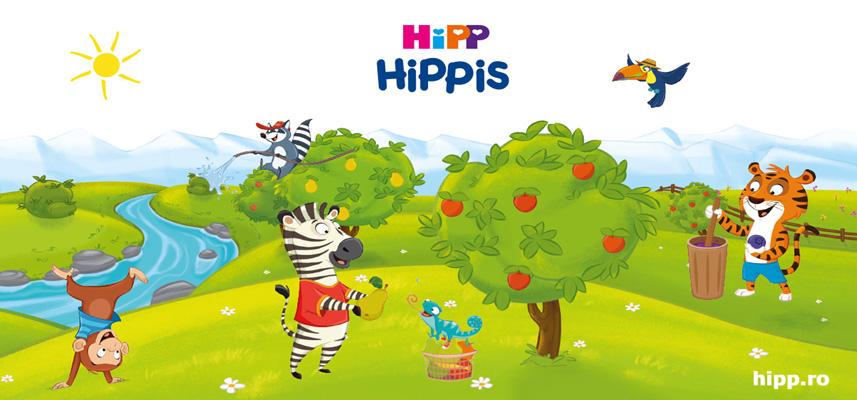 HiPP HiPPiS Rodie-Acerola și Măr-Zmeură – fructe delicioase şi super distracţie într-o nouă formulă!