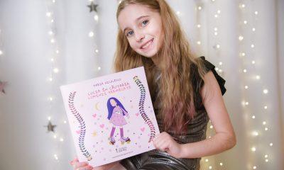 Maria Nicolescu, scriitoare la 9 ani. A început să scrie pentru a trecere de trauma bullyingului