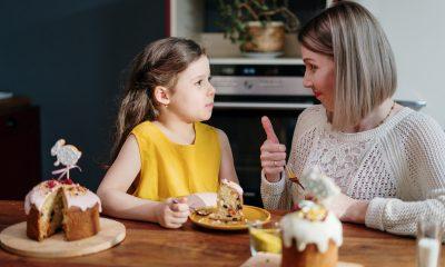 Parinti, atentie la alimentatia copilului la mesele de Paste!