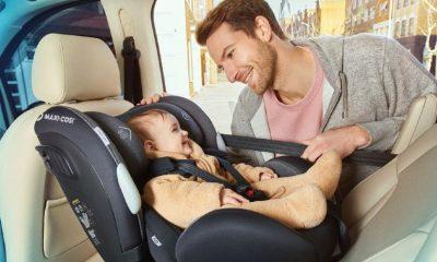 Scaunul auto pentru copii: care sunt cele mai sigure locuri in masina?